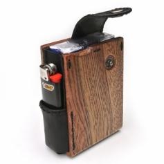 for Cigarettes Soft Package/木製タバコケースソフト用