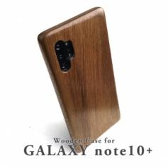 GALAXY note10+ 専用 特注木製ケース