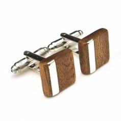 DESIGN Cuffs B 木製カフスB