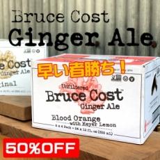 【訳あり】BCGA ブラッドオレンジ 24本 ジンジャーエール