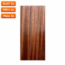 スマートフォン用木製ケースの素材/0521 流柾 色味BA