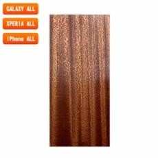 スマートフォン用木製ケースの素材/0522 流柾 色味BA