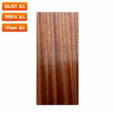 スマートフォン用木製ケースの素材/0524 流柾 色味BA