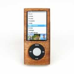 for iPod nano 5th木製ケース