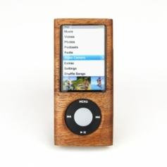 for iPod nano 5th木製ケース