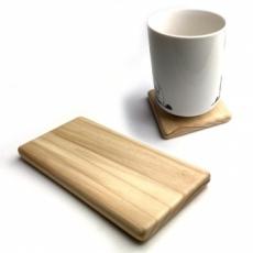 もみの木製 トレイ コースター