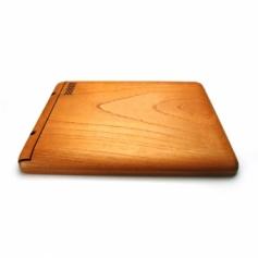 別注iPad 4 Retina 店舗メニュー用 フルカバー 素材:ケヤキ