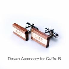 DESIGN Cuffs R 木製カフスR