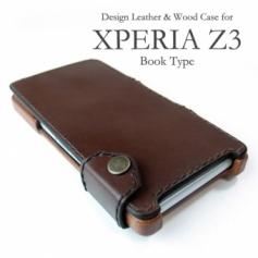 XPERIA Z3 専用デザインケース(Bookタイプ)