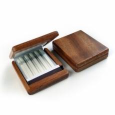 二つ折りマッチ専用木製ケース