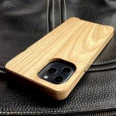 iPhone 12 Pro Max 専用 木製ケース(ケヤキ)