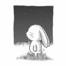 ラクガキ屋Mallu刻印 ほかのカタチ/F06 夜空のうた-小さな星-