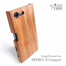 XPERIA X Compact 専用木製ケース