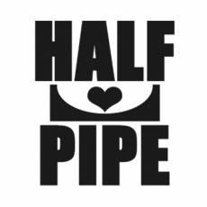 LIFEのオリジナル刻印デザイン/i love halfpipe