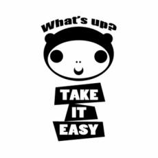LIFEのオリジナル刻印デザイン/take it eazy