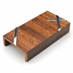 case for FRISK 木製ケース/シルバースタイルG