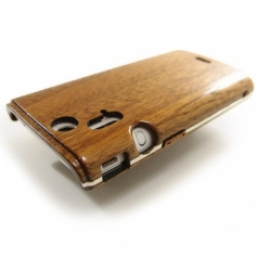 for XPERIA acro SO-02C木製ケース/シルバーラインサンプルL