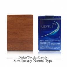 木製タバコケース ソフトパッケージ用