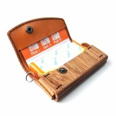 fits 専用 木と革のケース