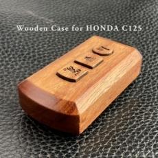 別注・HONDA C125対応木製スマートキーケース