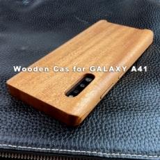 GALAXY A41 専用 特注木製ケース