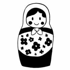 栗木 栗・KURIKI MARRONのイラスト刻印データ/mato01