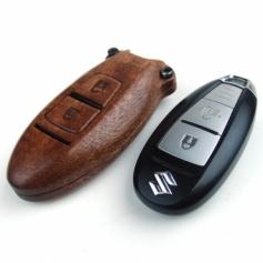 別注 SUZUKI Swift車対応木製スマートキーケース