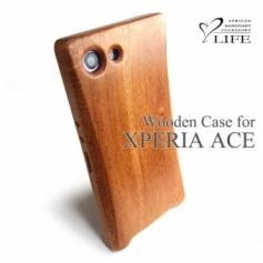 XPERIA ACE 専用木製ケース Arc Ver.