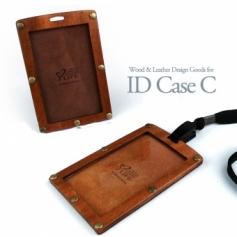 for ID Card Case C 木製IDケース C