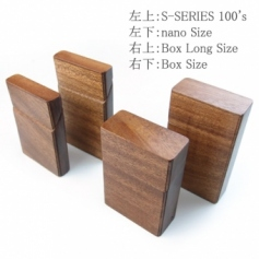 for Cigarettes BOX Package/木製タバコケースボックス用