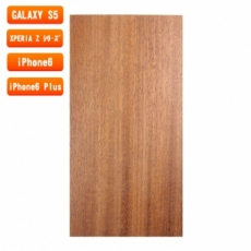 スマホ用木製ケースの素材/0453 順柾 色味BC