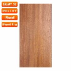 スマホ用木製ケースの素材/0454 順柾 色味BC