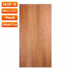 スマホ用木製ケースの素材/0456 順柾 色味BC