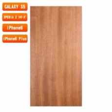 スマホ用木製ケースの素材/0458 順柾 色味BC