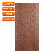 スマホ用木製ケースの素材/0461 柾目 色味AB
