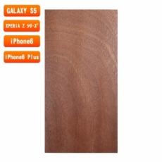 スマホ用木製ケースの素材/0462 板目 色味AB
