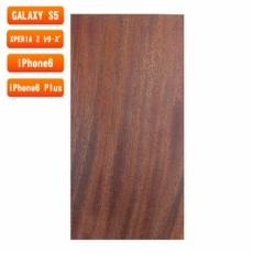 スマホ用木製ケースの素材/0466 柾目 色味AB