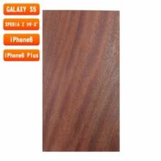 スマホ用木製ケースの素材/0469 柾目 色味AB