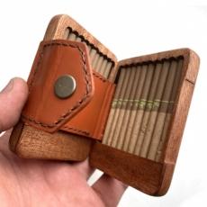 別注:手巻きタバコ用木製ケース