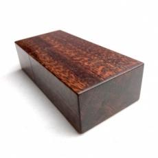 別注 木製小物ケース(スネークウッド)
