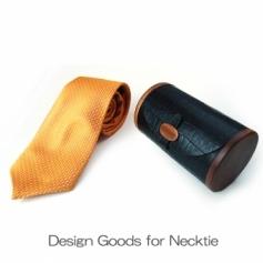Necktie Case 01 マホガニーのネクタイケース