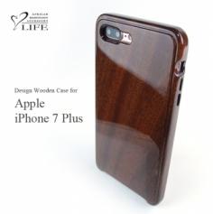 別注品:iPhone 7 Plus 専用木製ケース/素材指定/鏡面