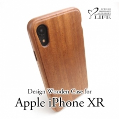 iPhone XR 専用木製ケース