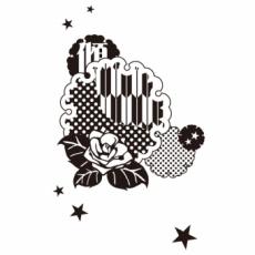 照紗・TERESAのイラスト刻印データ/傾乙女模様