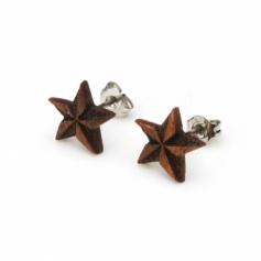 Design Earrings05 木製ピアス05