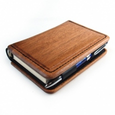 Design Case for System Book Cover A木製システム手帳A