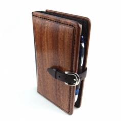 System Book Bible Size B木製システム手帳