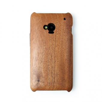 for HTC J one HTL22木製ケースカバー